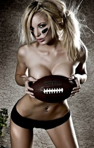 Hot Football Girl